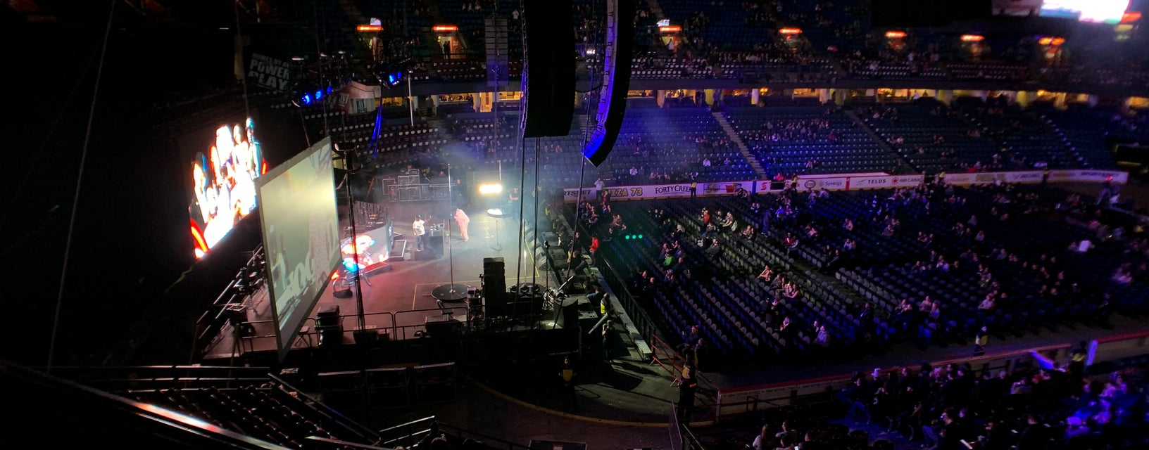 Seat view from Mid Level Center