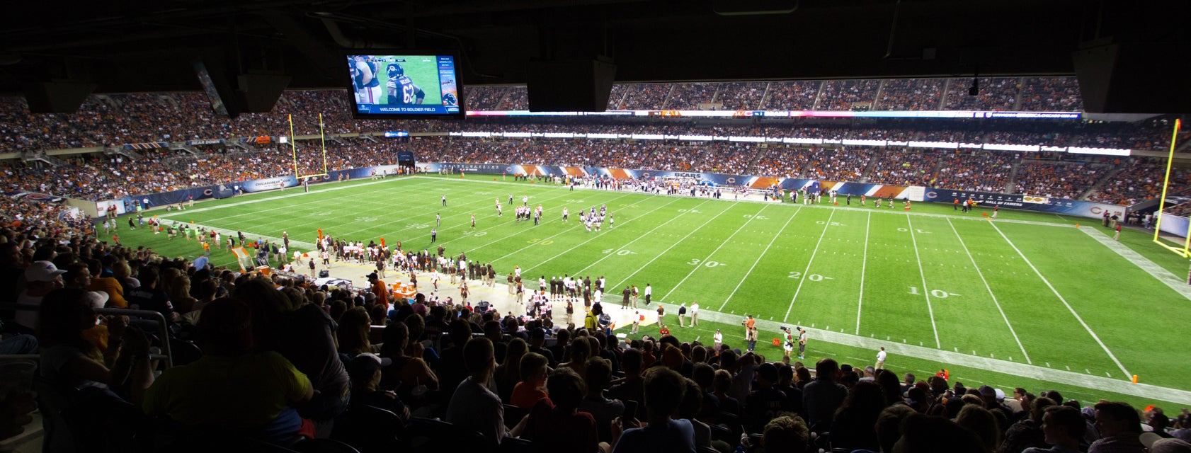 Seat view from United Club