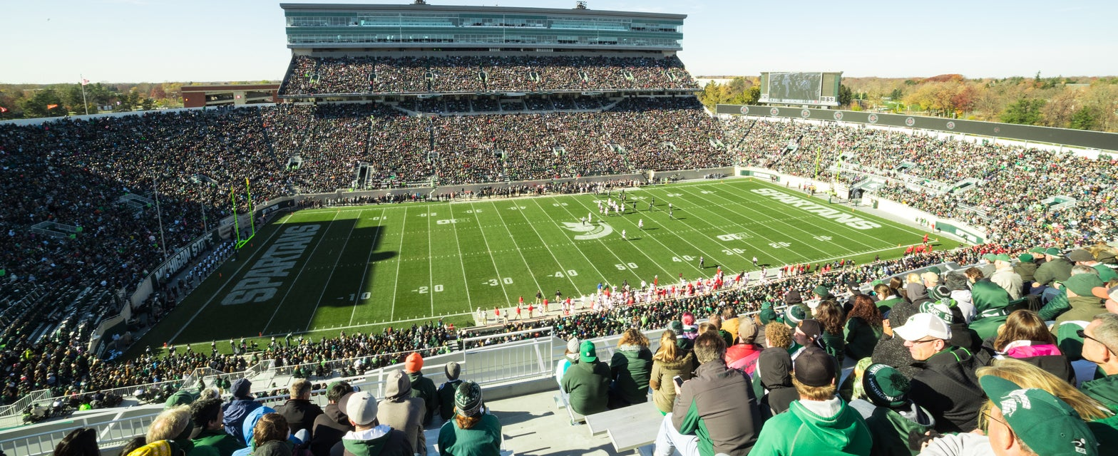 Seat view from Student Section