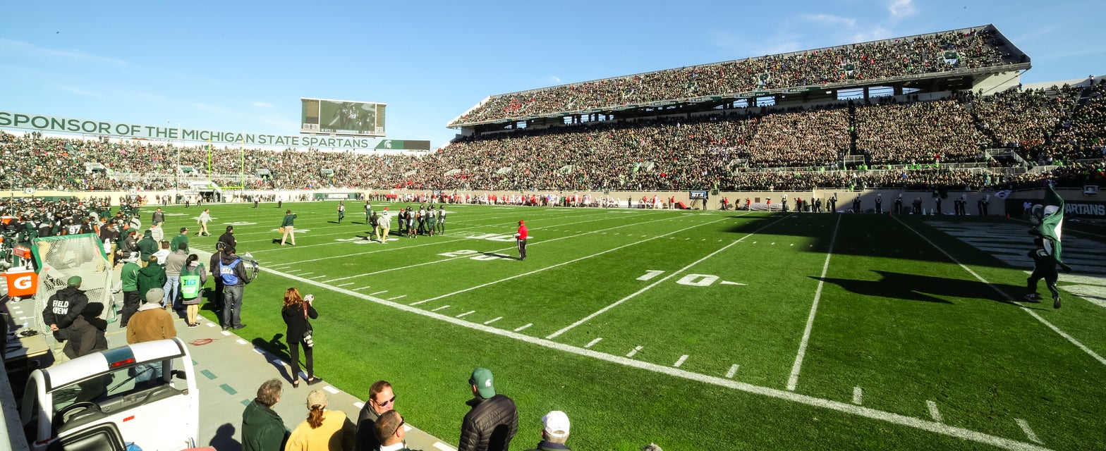 Seat view from Zone C