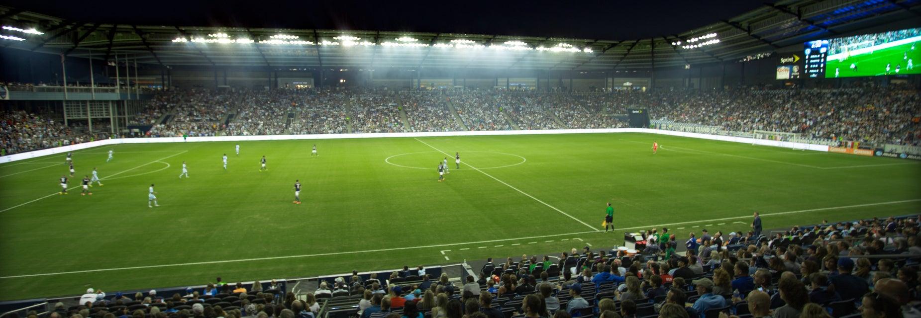 Seat view from Stadium Club