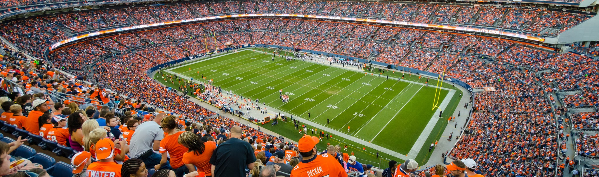 Seat view from Upper Level Corner