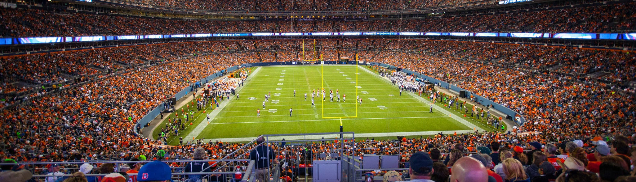 Seat view from Plaza Level End Zone