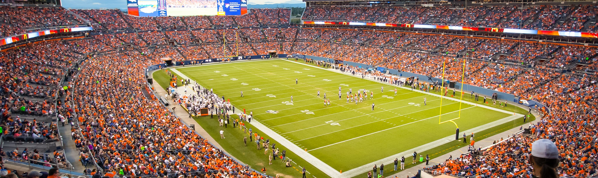 Seat view from Middle Level End Zone