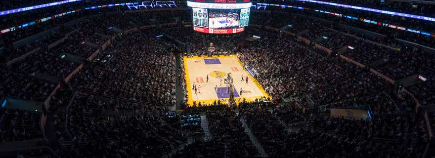 New Orleans Pelicans At Los Angeles Lakers At Staples Center