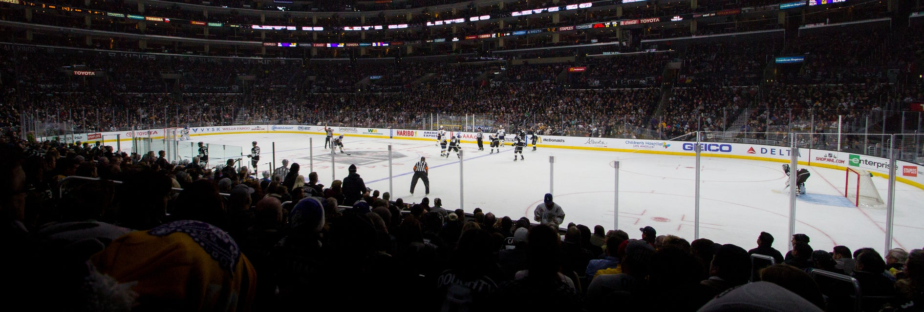 Seat view from Lower Center