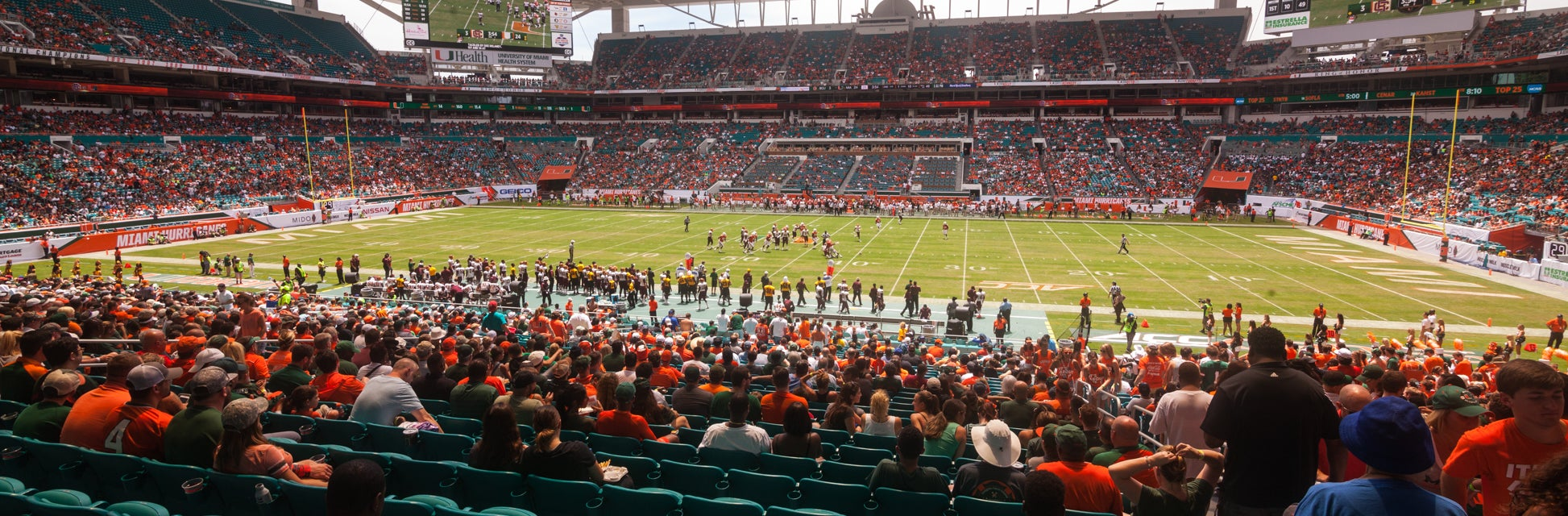 Seat view from Lower Sideline Club