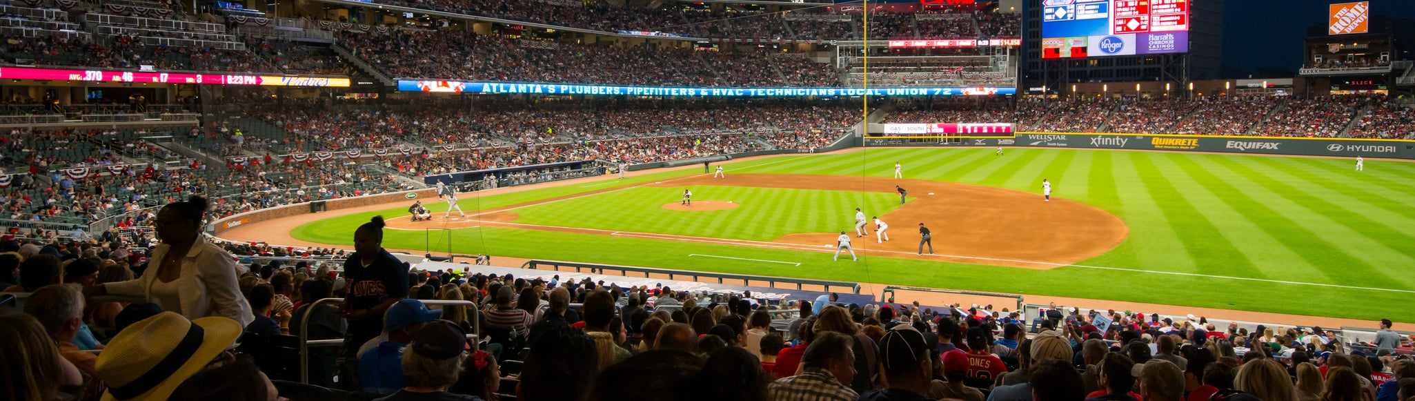 Seat view from Diamond Infield