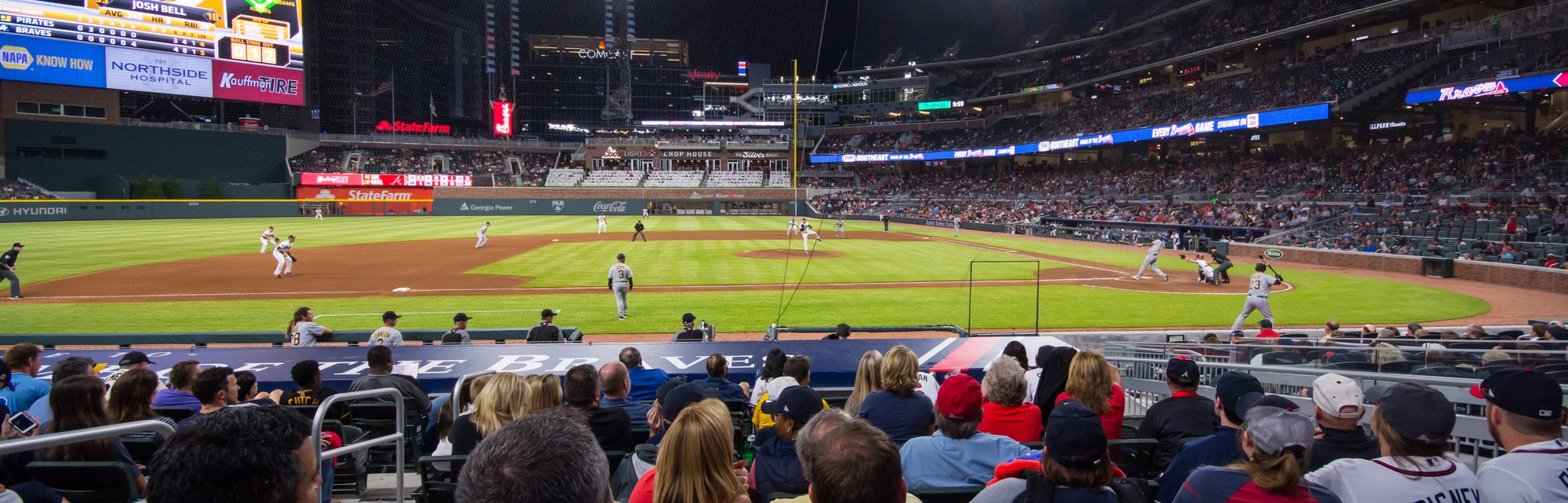 Seat view from Dugout Infield