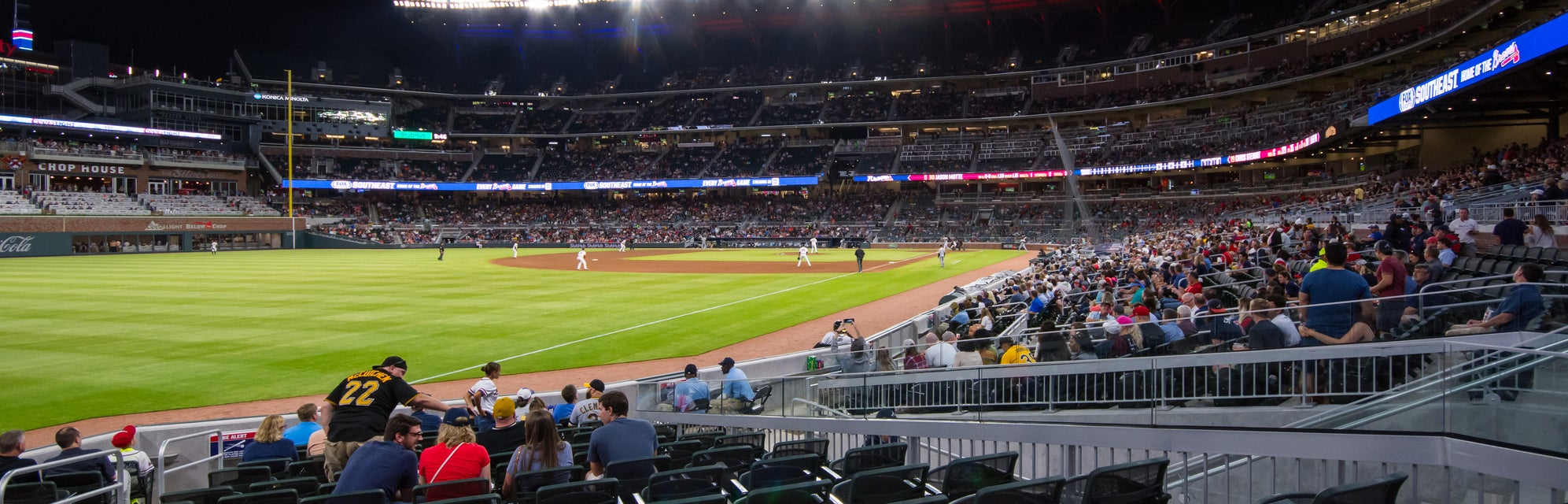 Seat view from Dugout Corner