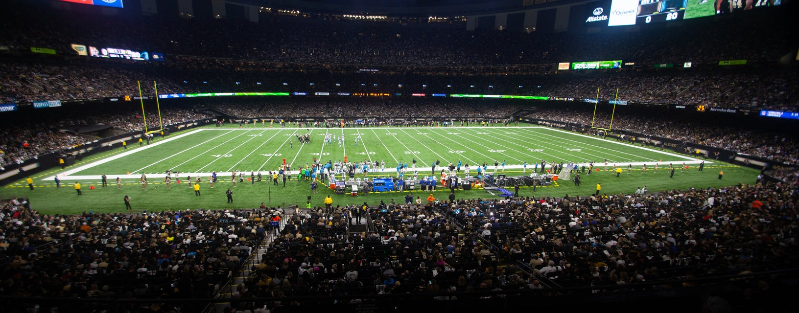 Seat view from Loge Club Sideline Prime