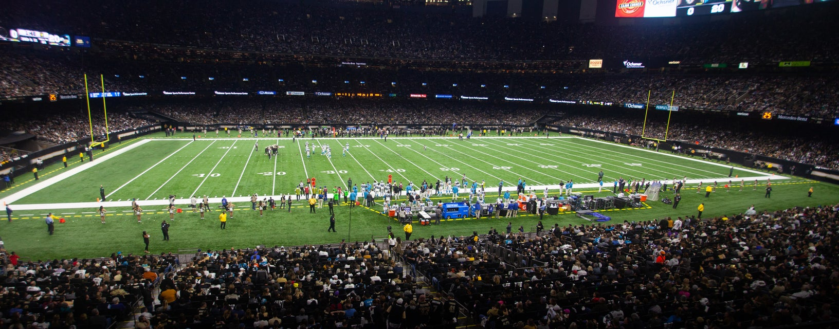 Seat view from Loge Club Sideline
