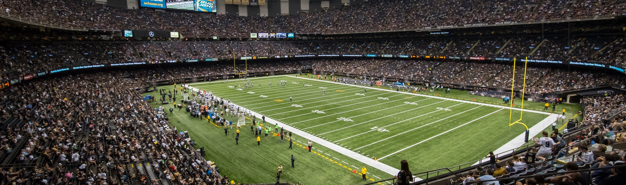 Seat view from Loge Corner