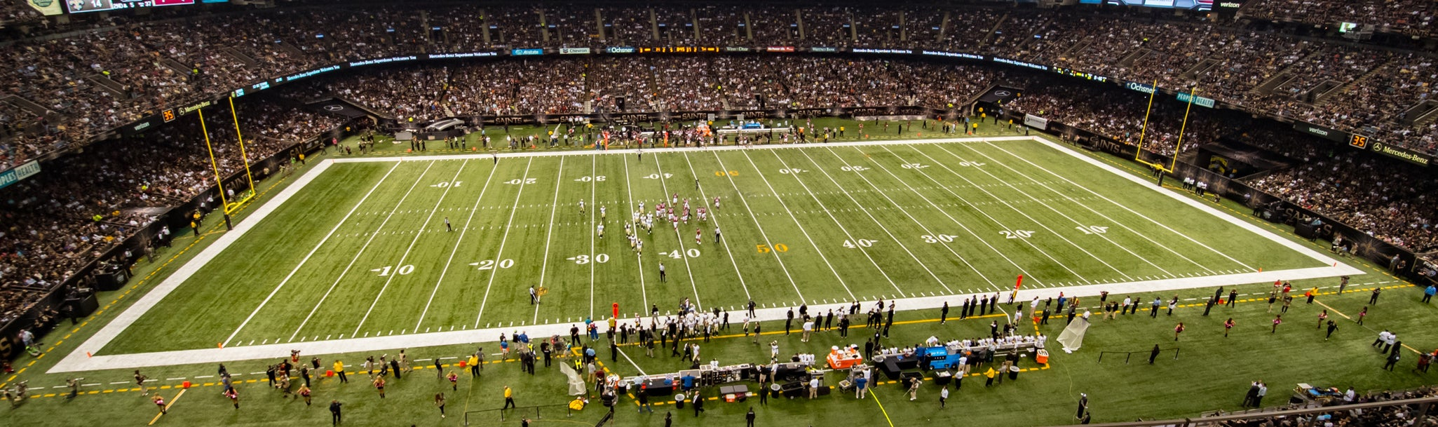 Seat view from Upper Box Sideline
