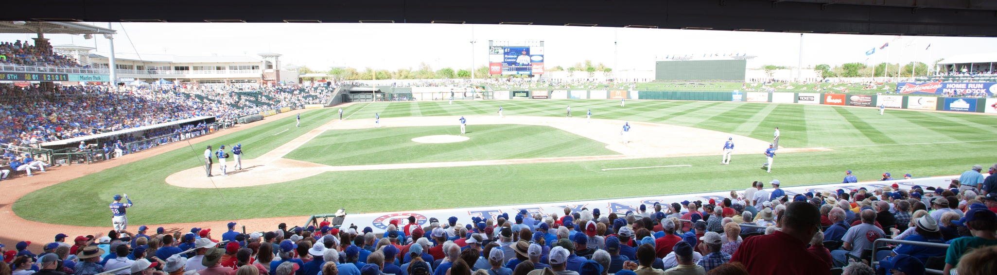 Seat view from Lower Dugout