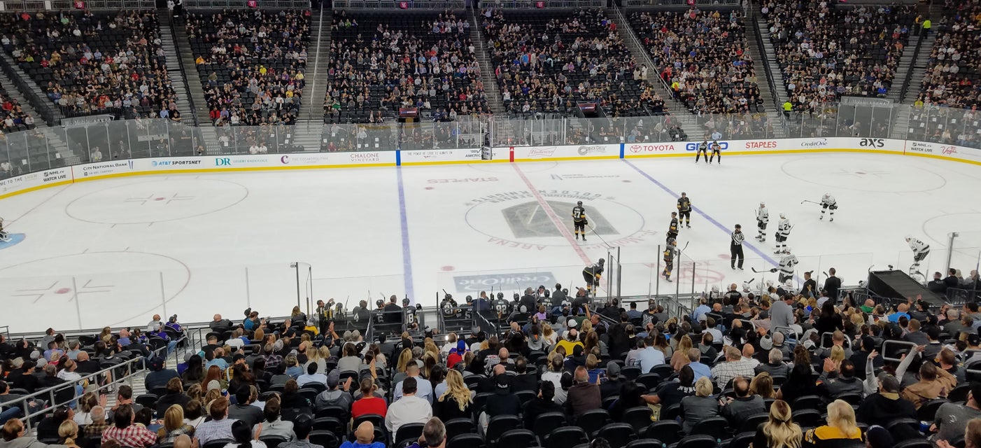 Seat view from Glass