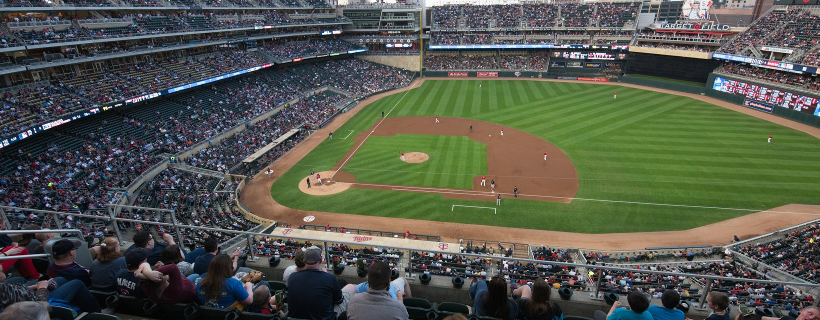 Seat view from Home Plate Terrace