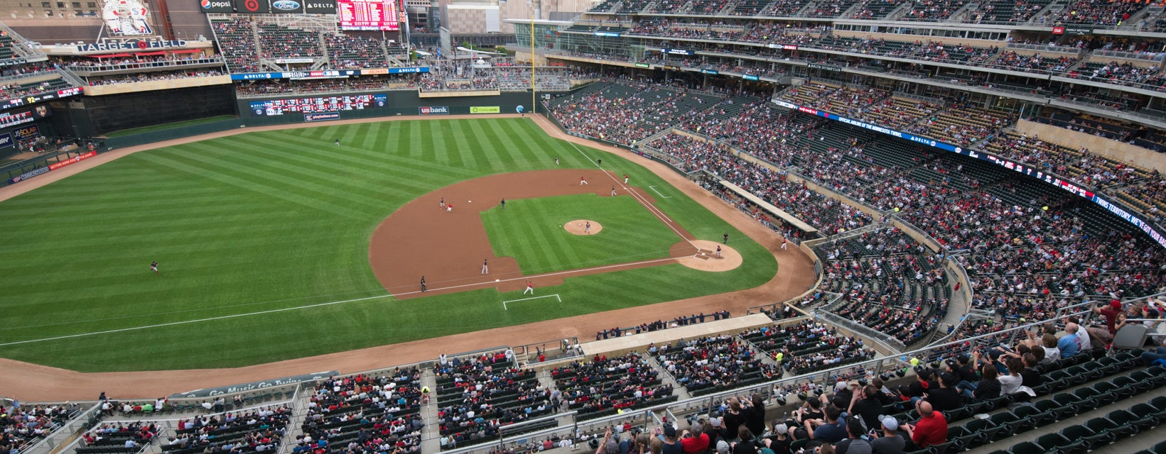 Seat view from Home Plate View