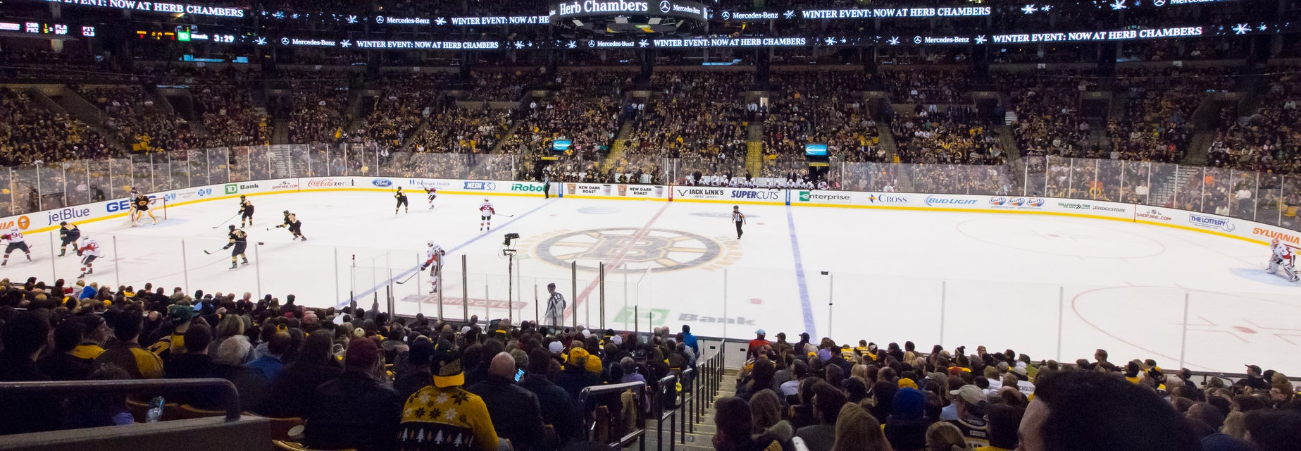 Seat view from Loge Glass