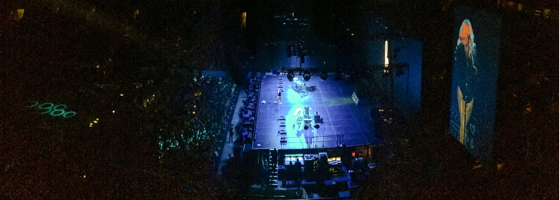 Seat view from Balcony Center