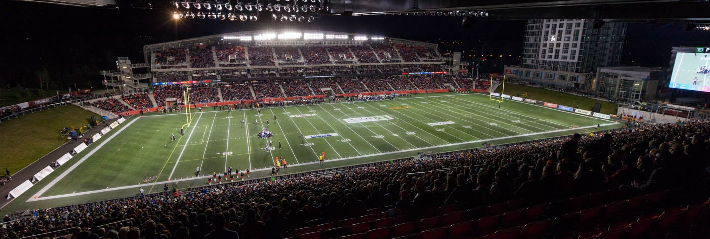 Seat view from North Stands Upper