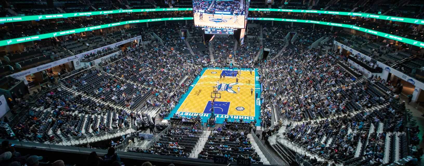 Seat view from Upper Level Baseline