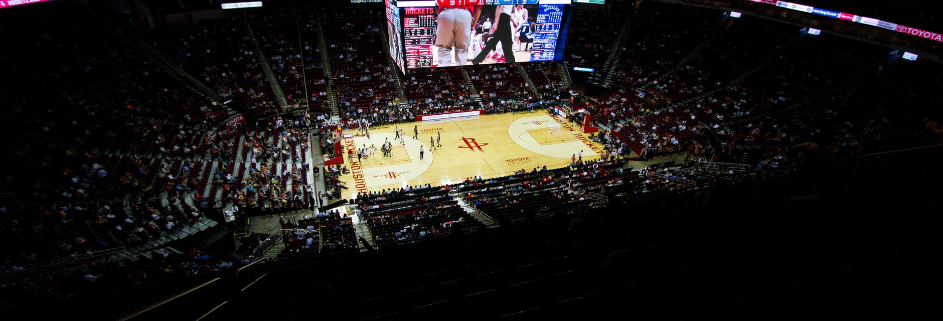 Seat view from Upper Center