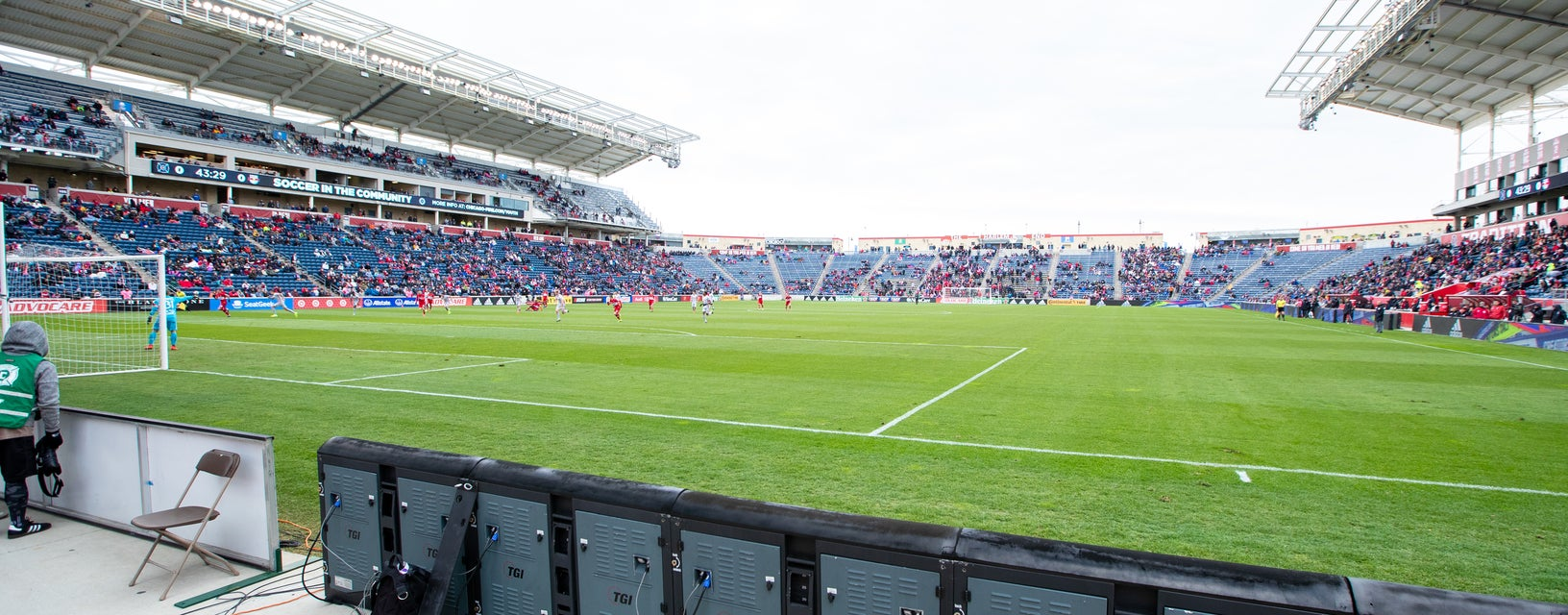Seat view from Corner Kick
