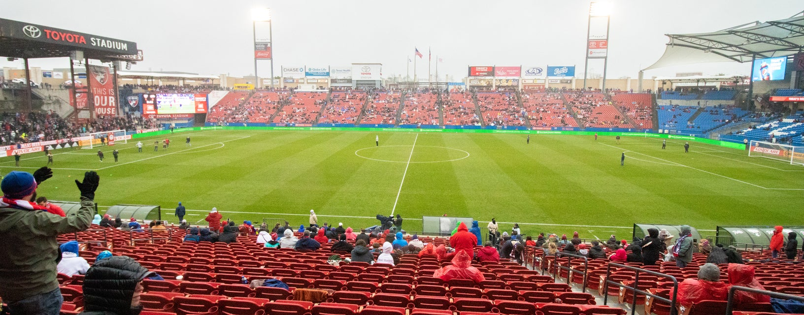Seat view from Midfield Club West