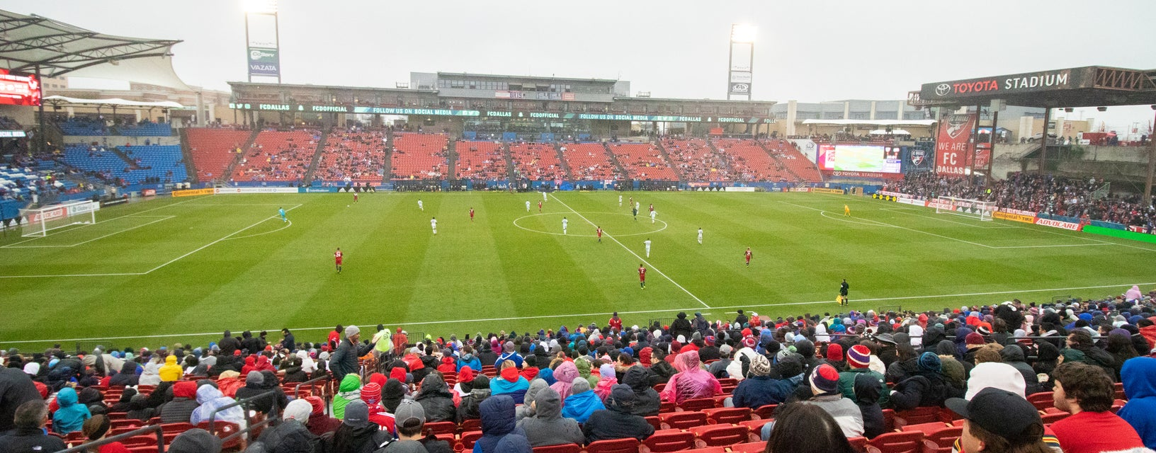 Seat view from Midfield East