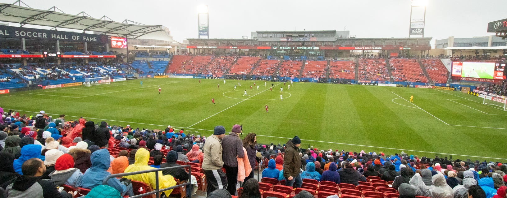 Seat view from Sideline East