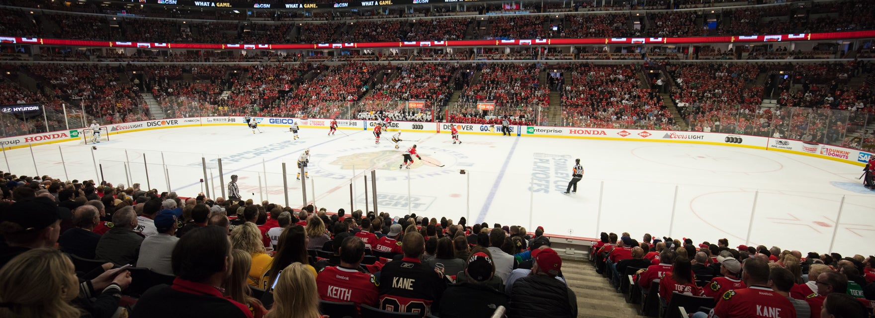 Seat view from Platinum Glass