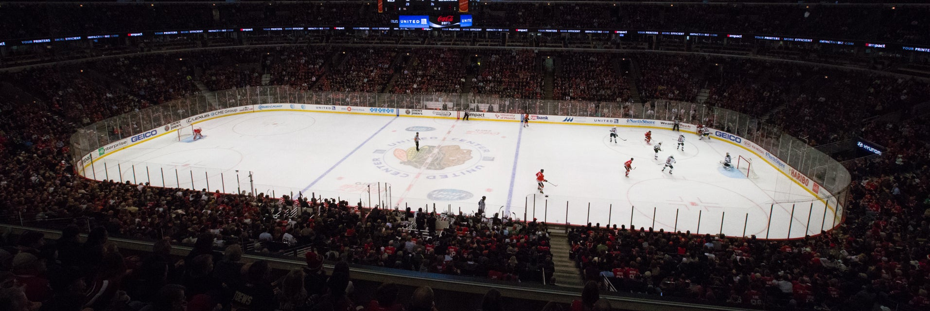 Seat view from Club Center