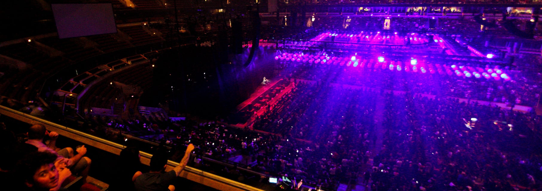 Seat view from Upper Level
