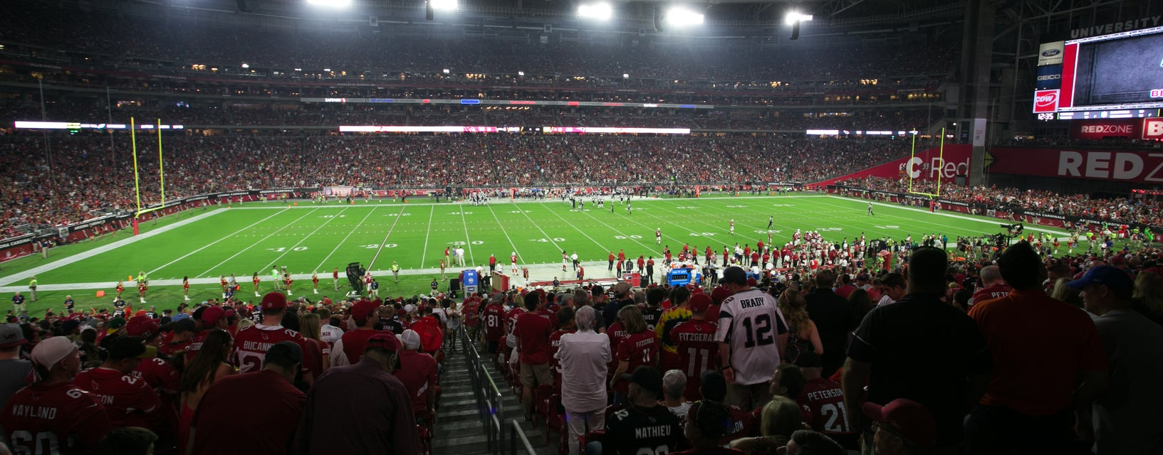 Seat view from Main Level Sideline