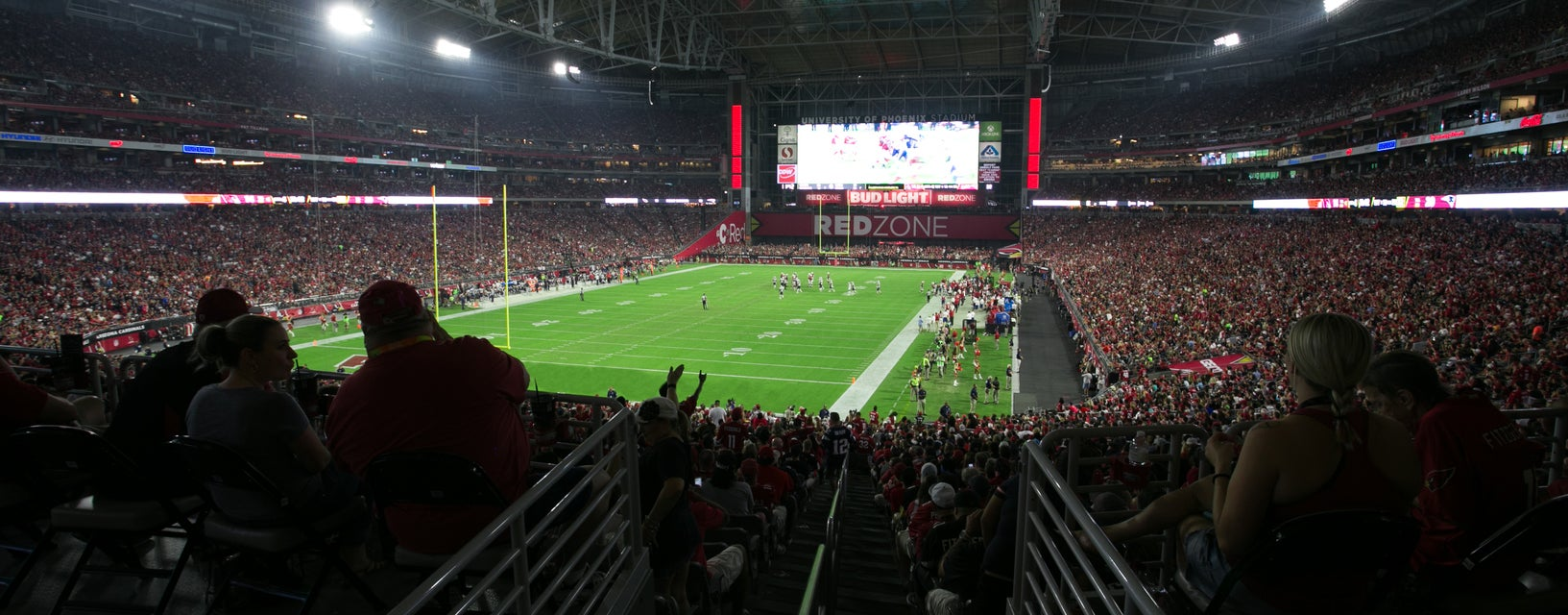Seat view from Main Level End Zone