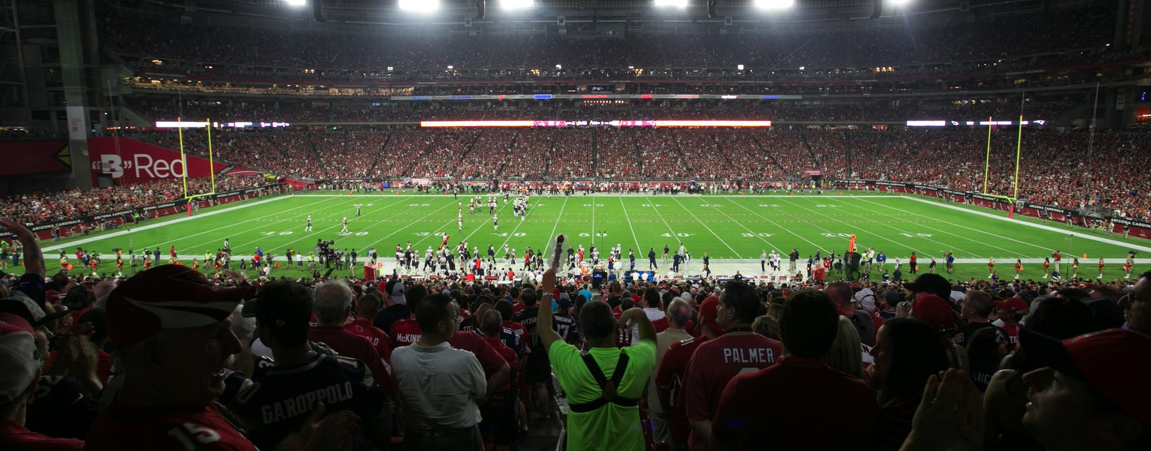 Seat view from Main Level Premier