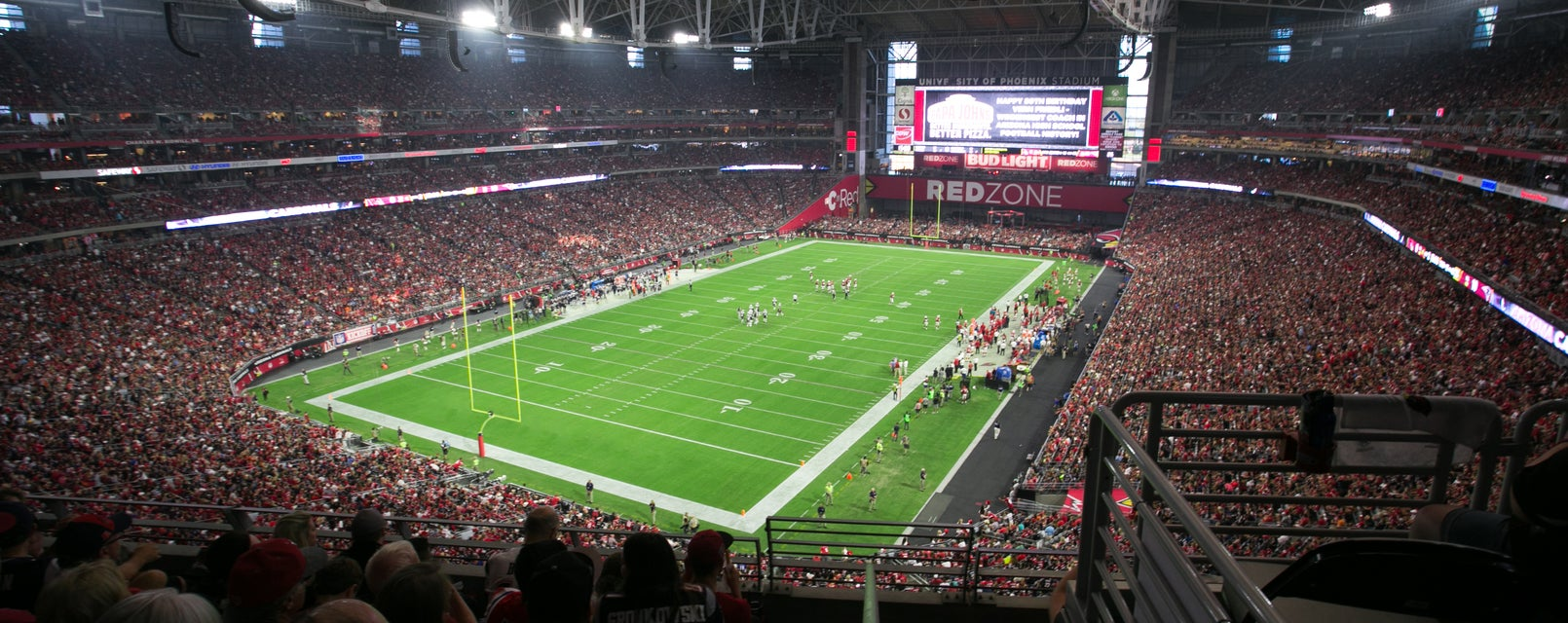 Seat view from Terrace Level End Zone