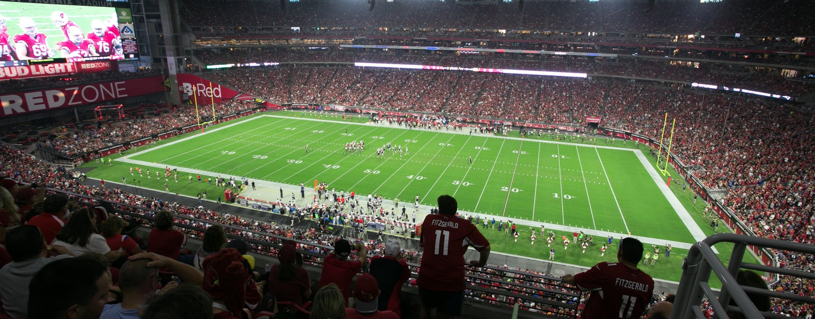 Seat view from Terrace Level Sideline