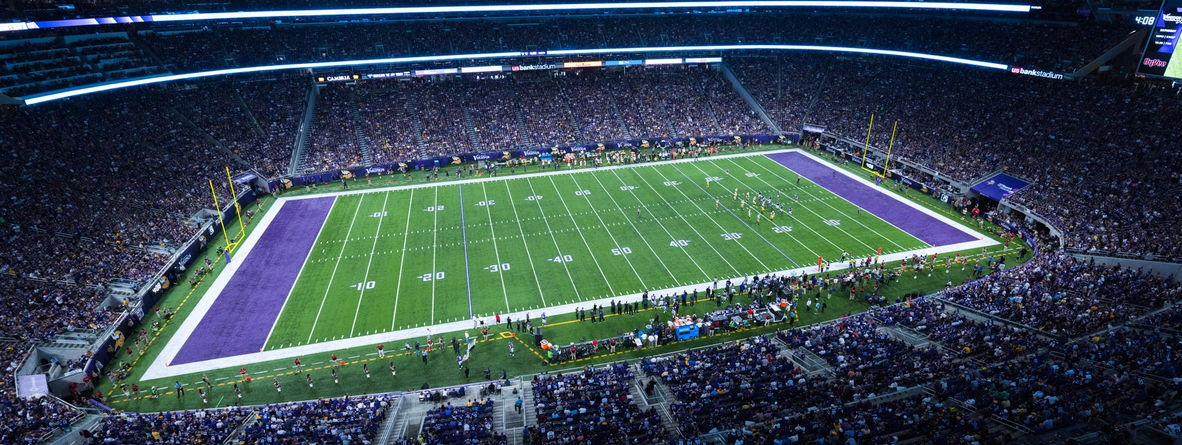Seat view from Loge Sideline