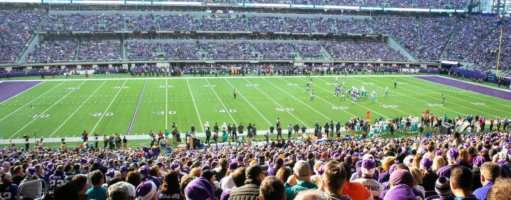 Seat view from Vikings Club