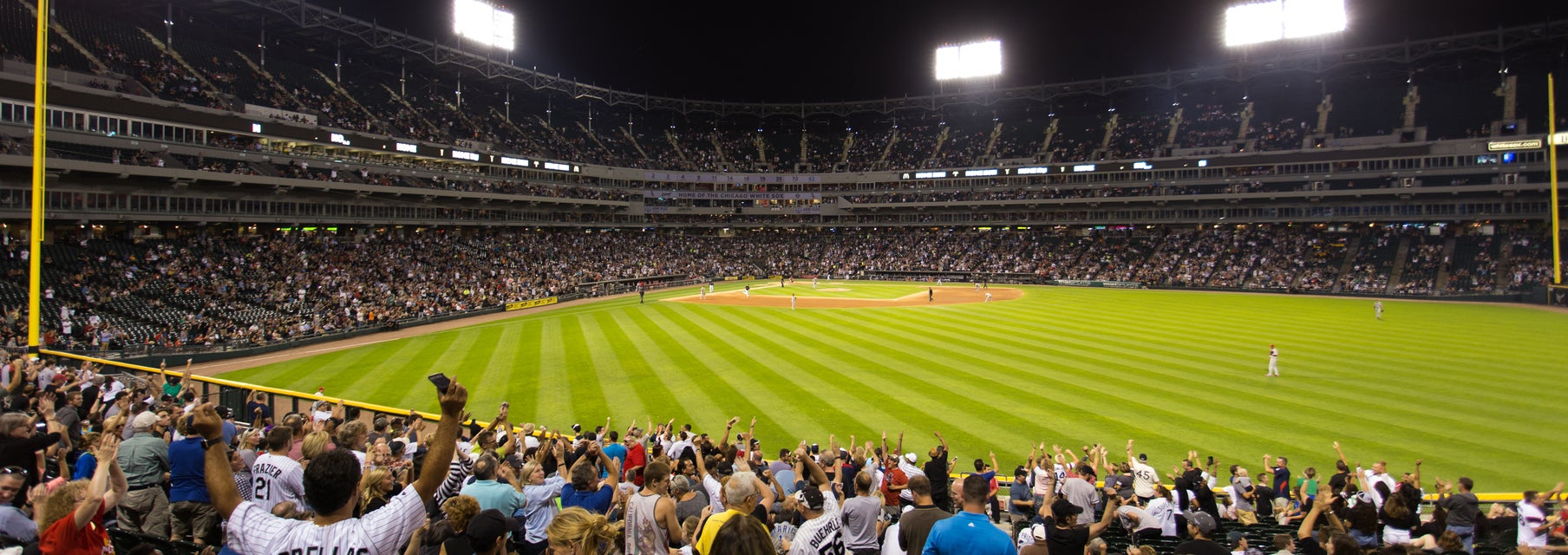 Seat view from Outfield Reserved