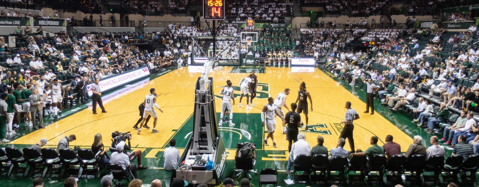 Seat view from Lower Baseline
