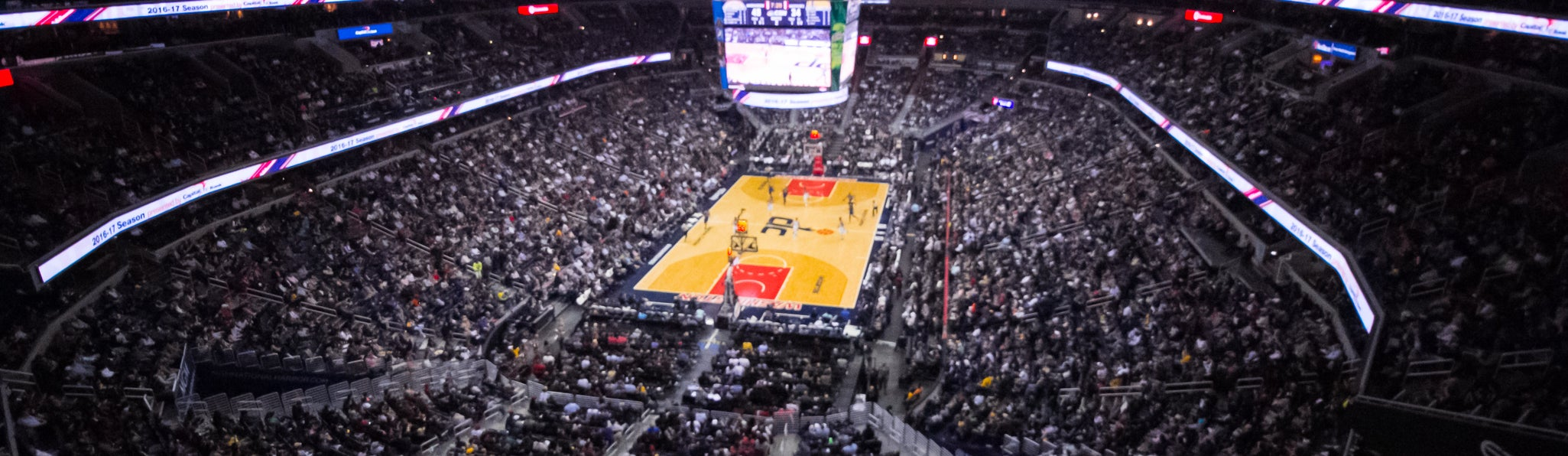 Seat view from Upper Baseline