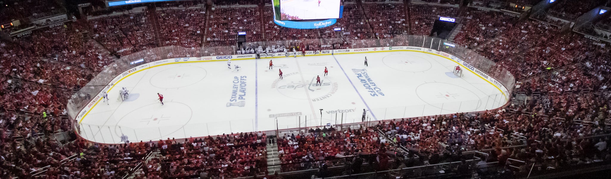 Seat view from Mezzanine Center