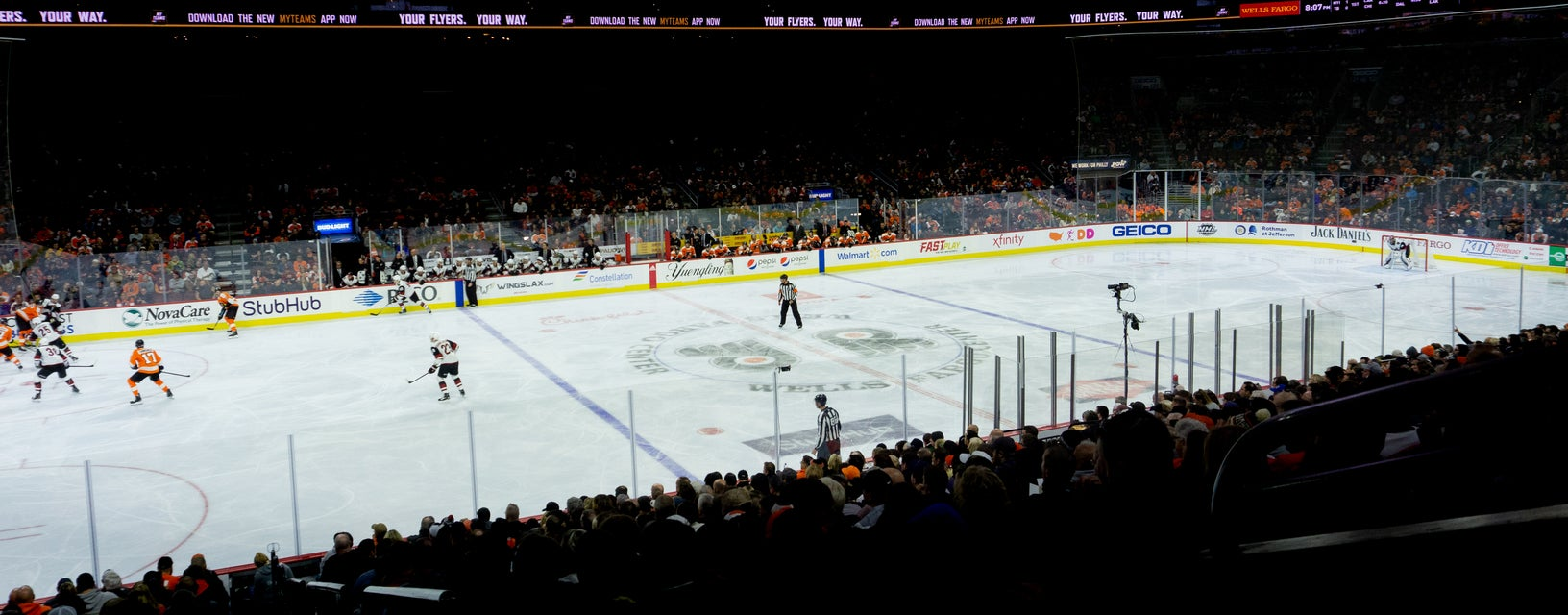 Seat view from Ice Row