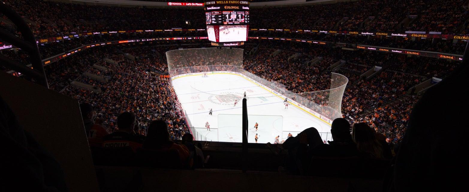 Seat view from Mezzanine Goal