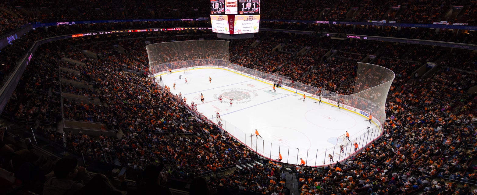 Seat view from Mezzanine Goal