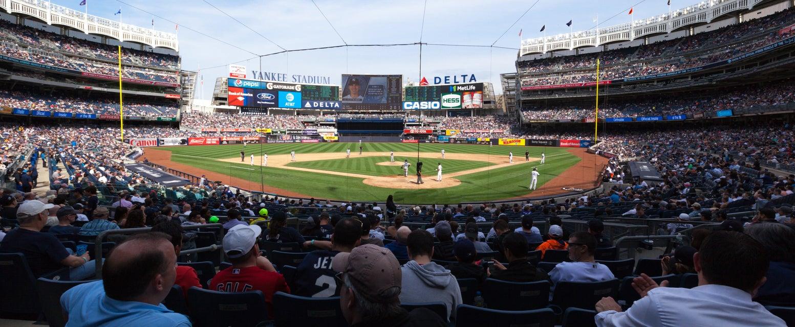 Seat view from Field MVP SRO