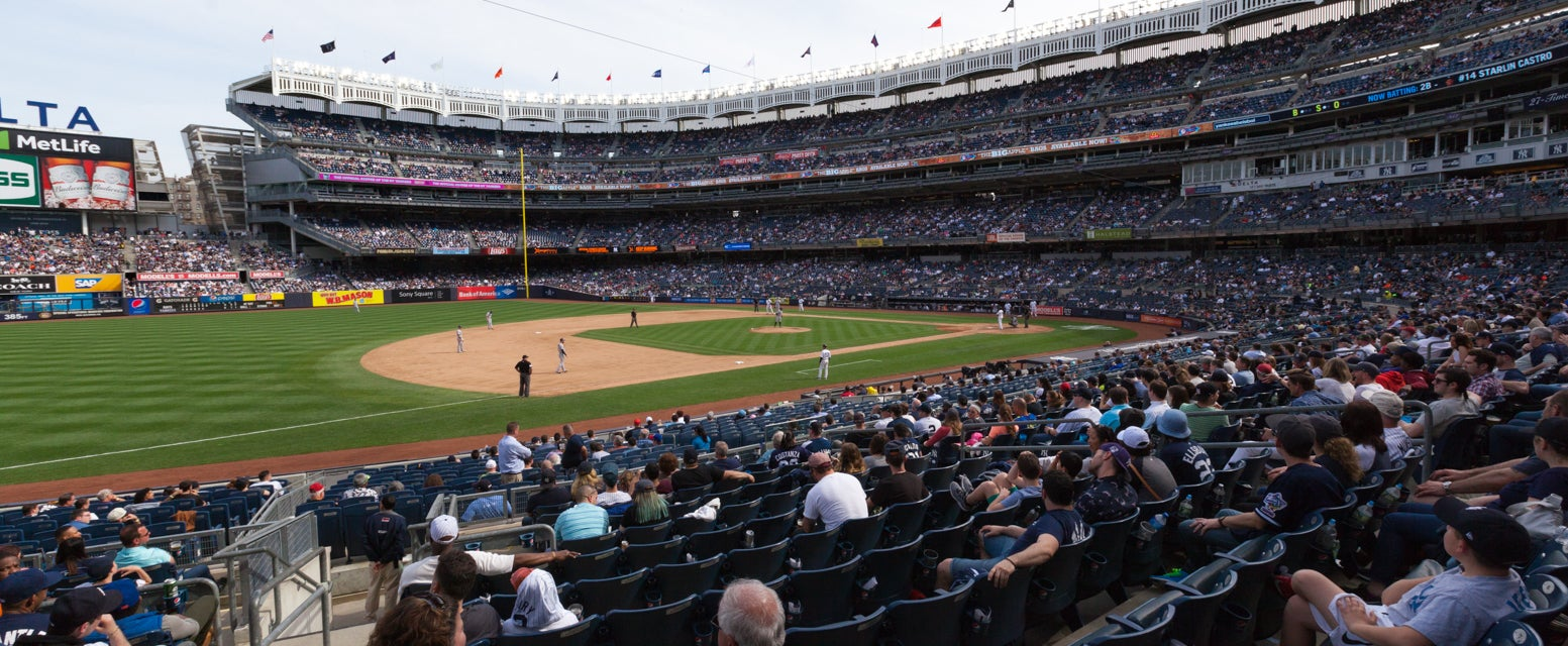 Seat view from Field Infield SRO